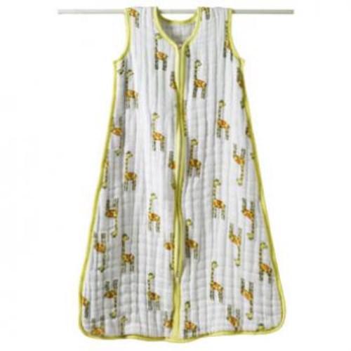 Aden + Anais Cozy Sleeping Bags厚款嬰幼兒睡袋 - 叢林動物長頸鹿 jungle jam - giraffe