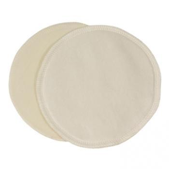 ImseVimse-羊毛絲綢哺乳護墊(圓形2片組/14cm)